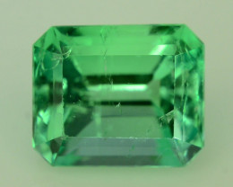Extremely Rare ~Top Luster & Clarity 2.60 ct Russian Emerald
