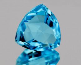 14.00 mm Trillion Checker 12.91cts Sky Blue Topaz [VVS]