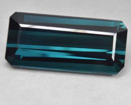 28.45 Cts Fabulous Beautiful Natural Blue Green Tourmaline