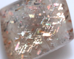 10 $ PER CARAT 4.06 CTS   RAINBOW LATTICE SUNSTONE  -POLISHED  [STS1021]