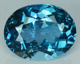 ~AWESOME~ 1.75 Cts Natural London Blue Topaz Oval Cut Brazil