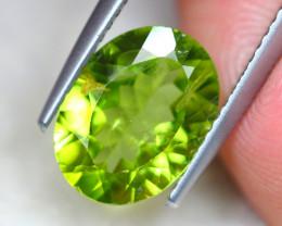 3.01Ct Natural Green Peridot Oval Cut Lot LZ7251