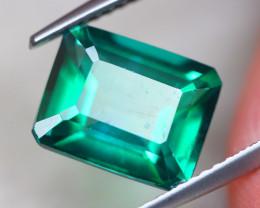 4.57Ct Natural Green Topaz Octagon Cut Lot LZ7255