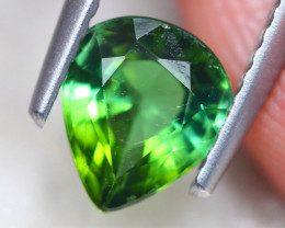1.25Ct Natural Green Tourmaline Pear Cut Lot LZ6983