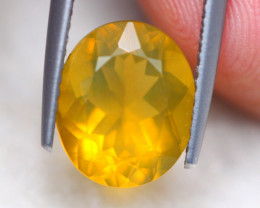 2.47Ct Natural Mexico Fire Opal Oval Cut Lot LZ6984