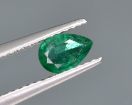 Natural  Emerald 0.39 Cts Top Luster from Zambia