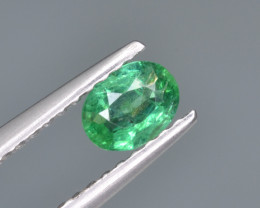 Natural  Emerald 0.27 Cts Top Luster from Zambia