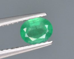 Natural  Emerald 0.42 Cts Top Luster from Zambia