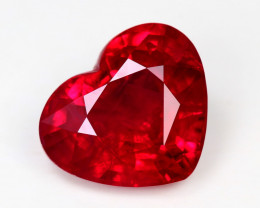 AFRIGA RUBY, lovely, rare, excellent cut   EXCEPTIONAL  COLOUR  #RB121