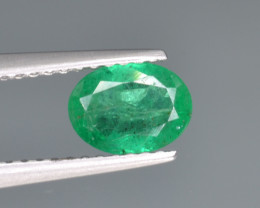 Natural  Emerald 0.66 Cts Top Luster from Zambia