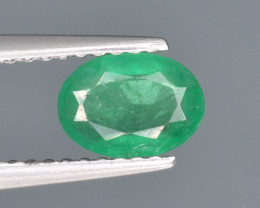 Natural  Emerald 0.71 Cts Top Luster from Zambia