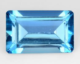 3.39 Carat London Blue Natural Topaz Gemstone