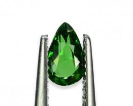 0.698 Cts Beautiful Lustrous Natural Green Garnet