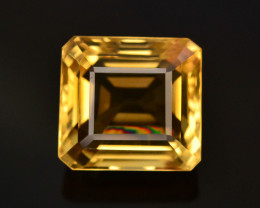 Brilliant Yellow Color & Cut 7.45 Ct Natural Citrine ~ Africa