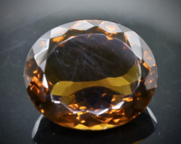 10.93 Crt Conic Quartz  Faceted Gemstone (Rk-96)