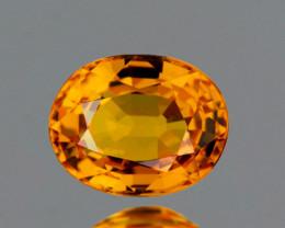 5x4 mm Oval 0.53ct Golden Yellow Sapphire [VVS]