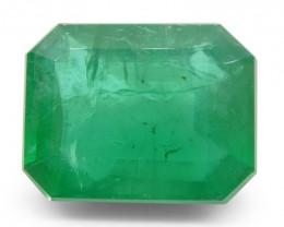 10.35ct Octagonal / Emerald Cut Emerald