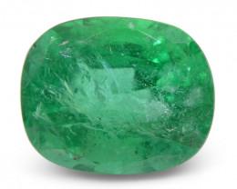4.59ct Cushion Emerald