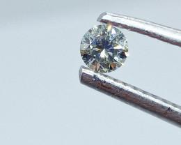 0.18ct  Faint bluish Green Diamond , 100% Natural Untreated