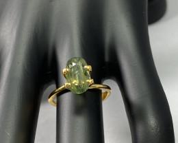 2.20ct  Natural Green Sapphire