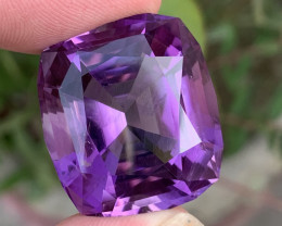 65 Carats fancy cut amethyst gemstone