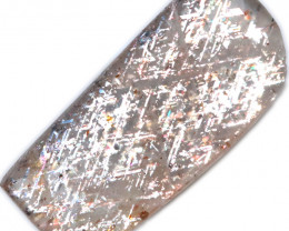 10 $ PER CARAT 3.34 CTS   RAINBOW LATTICE SUNSTONE  -POLISHED  [STS1054]