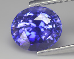 Gorgeous Blue Cylon Sapphire 2.35 Cts Step cut Oval BGC542