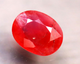 Sapphire 1.91Ct Natural Reddish Orange Sapphire D2206/B38