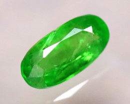 Tsavorite 1.12Ct Natural Intense Vivid Green Color Tsavorite Garnet D2210