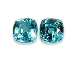 2.07 Cts Dazzling Lustrous Cambodian Blue Zircon