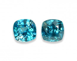 2.08 Cts Dazzling Lustrous Cambodian Blue Zircon