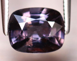 Spinel 2.10Ct Mogok Spinel Natural Burmese Titanium Purple Spinel DF2230/A1