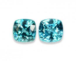 2.39 Cts Dazzling Lustrous Cambodian Blue Zircon