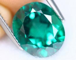 6.52cts Natural Vivid Green Topaz / KL526