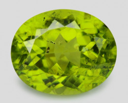 3.74 Cts Green Color Natural BURMA Peridot Gemstone