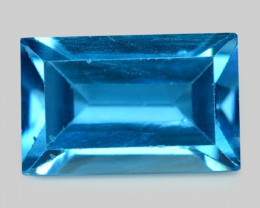 London Topaz 3.78 Cts Fancy London Blue Natural Topaz Gemstone