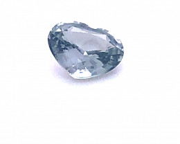 GIA Certified Color Change Sapphire 1.59 Carats Light Blue to Gray Purple H