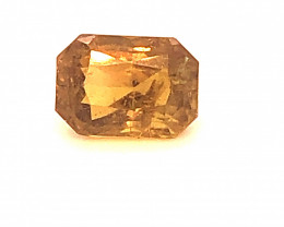 GIA Certified Color Change Sapphire 3.23 Carat Orange to Brown Octagonal Cu