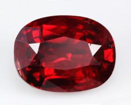 Burmese  vivid red spinel, excellent cut. #SN146-15