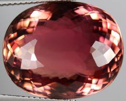 23.00 CT Hot Brownish Pink ELBAITE TOURMALINE Mozambique-PTM103
