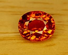 0.85Crt Natural Spessartite Garnet  Natural Gemstones JI74
