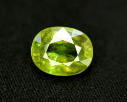 Sphene Titanite, 4.25 CT Natural Full Fire Sphene Titanite Gemstone