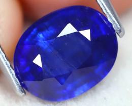 Blue Sapphire 2.73Ct Oval Cut Royal Blue Sapphire B2006