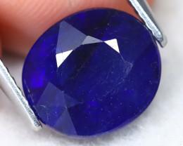 Blue Sapphire 4.37Ct Oval Cut Royal Blue Sapphire B2012