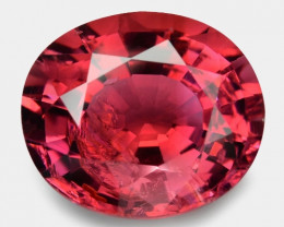 *NoReserve*3.34 Cts Un Heated Pink Color Natural Tourmaline Loose Gemstone
