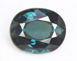 Burmese blue spinel, eye clean, rare, excellent cut.  #SN177-10