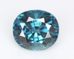 Burmese blue spinel, eye clean, rare, excellent cut.  #SN177-3