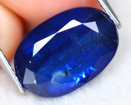 Kyanite 6.79Ct Oval Cut Natural Himalayan Royal Blue Color Kyanite C2006