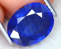 Kyanite 2.83Ct Oval Cut Natural Himalayan Royal Blue Color Kyanite C2008