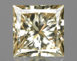0.56 Cts Untreated Fancy Yellowish Brown Color Natural Loose Diamond
